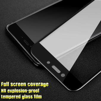 IMAK HD Full Coverage Tempered Glass Screen Protector for Xiaomi Redmi 4X - Black