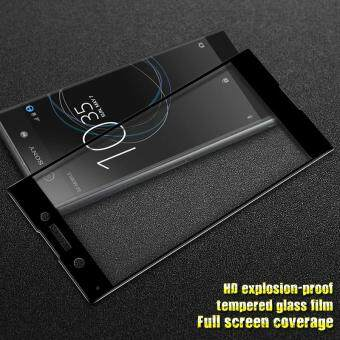 IMAK HD Full Size Tempered Glass Screen Protector for Sony XperiaXA1 - Black