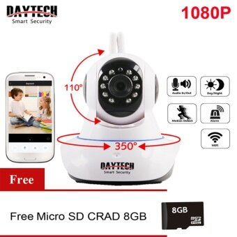 IP Camera Wireless Home Security Camera Wifi CCTV Camera Indoor Network Pan Tilt Two Way Audio IR Cut Night Vision 1080P HD