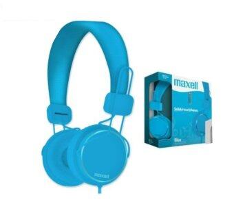 MAXELL SMS-10 WITH MICROPHONE SPECTRUM HEADPHONE - BLUE