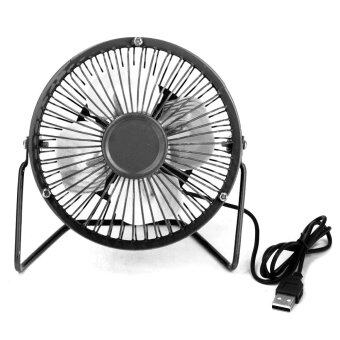 Mini Portable USB Fan Desktop Cooling & Solar Panel For Laptop Computer Outdoors