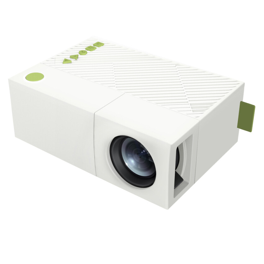 1200lumens hd 1080p home cinema 3d hdmi usb video game led for Mini portable pocket projector