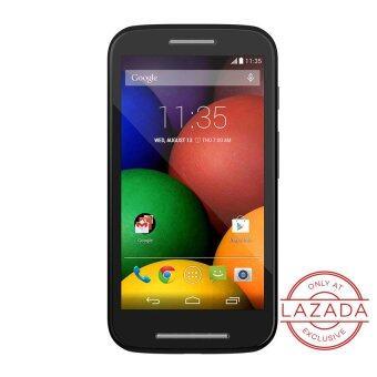 Motorola MOTO E Black - Only At Lazada