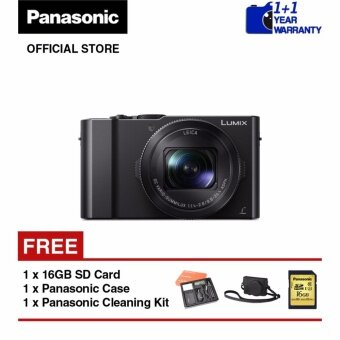 Panasonic Lumix DMC-LX10 4K Advance Creative Digital Camera (Black)