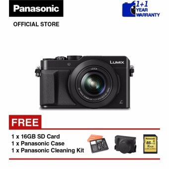 Panasonic Lumix DMC-LX100 4K Advance Creative Digital Camera (Black)