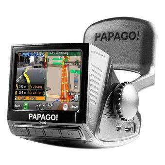 Papago! P3 Full HD Driving Recorder & GPS Navigation