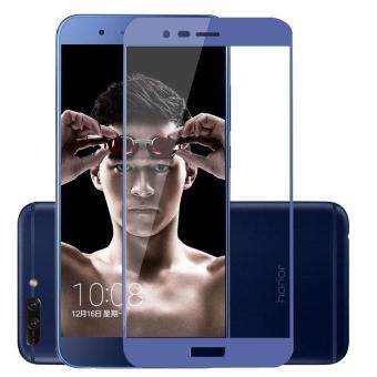 Premium Full Cover Tempered Glass for Huawei Honor 8 Pro Honor V9 2.5D 9H Anti Scratch Explosion Proof Screen Protector Film (Blue)