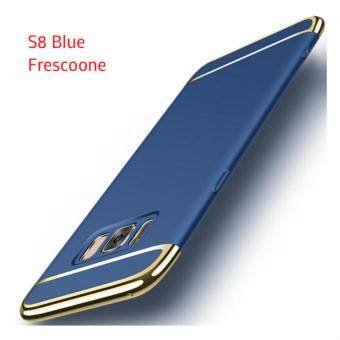 Samsung Galaxy S8 Luxury Protective Matte Case Cover Casing(Blue)