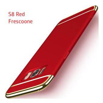 Samsung Galaxy S8 Luxury Protective Matte Case Cover Casing(Red)