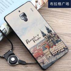 3d Relief Tpu Soft Phone Case For Xiaomi Mi 4 With Ring Multicolor Source · Silica