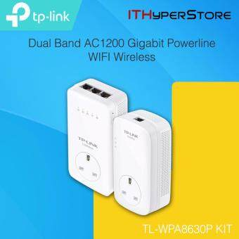 TP-LINK Dual Band AC1200 Gigabit Powerline WIFI Wireless WPA8630P KIT