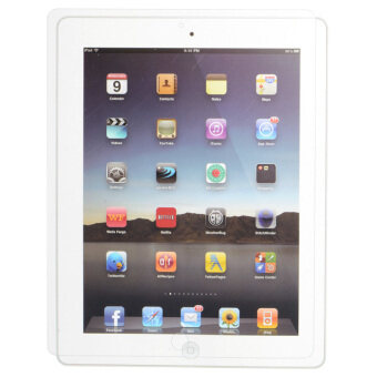 Transparent Tempered Glass Screen Protector for iPad 2 & 3& 4-