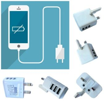 Travel Original Fast Charging Speed Adapter Plug Charger 3 USBSlots