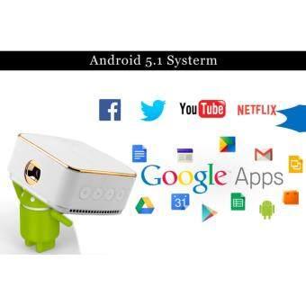 ☆ Hot Wejoy DL-S8 Android 5 1 1080P Pocket Smart Projector
