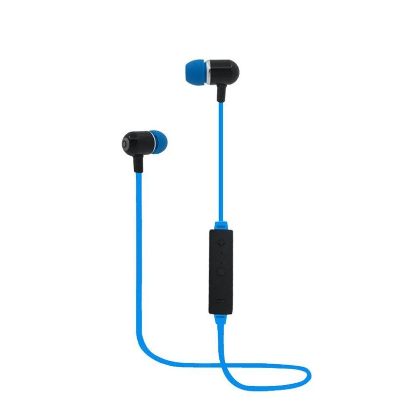mx666 wireless stereo bluetooth headset headphone blue lazada malaysia. Black Bedroom Furniture Sets. Home Design Ideas