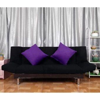 3 seater foldable black sofa bed lazada malaysia for Sofa bed lazada