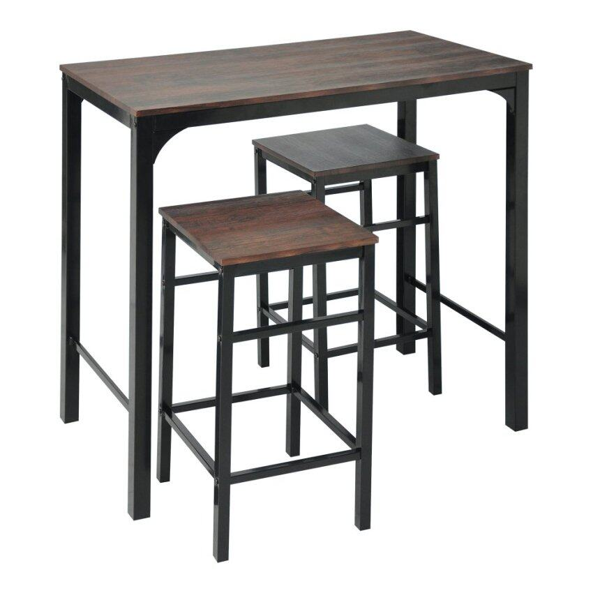 ssf barbord bar table 2 stools brown 11street malaysia With home bar furniture malaysia