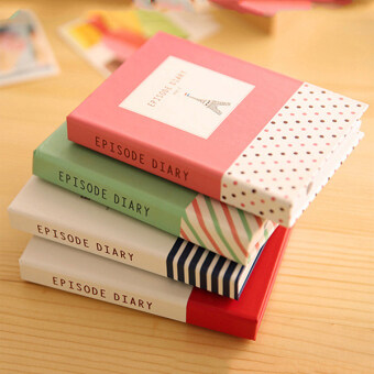 Bluelans Sticky Notes Notebook Memo Pad Paper Sticker Notepad Office Stationery Pen