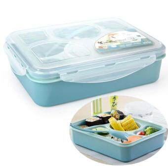 chenfei 4 1 compartment multicolored lunch boxes plastic food containers with lids for portion. Black Bedroom Furniture Sets. Home Design Ideas