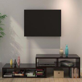 CHF FLEXIA extendable tv cabinet- black