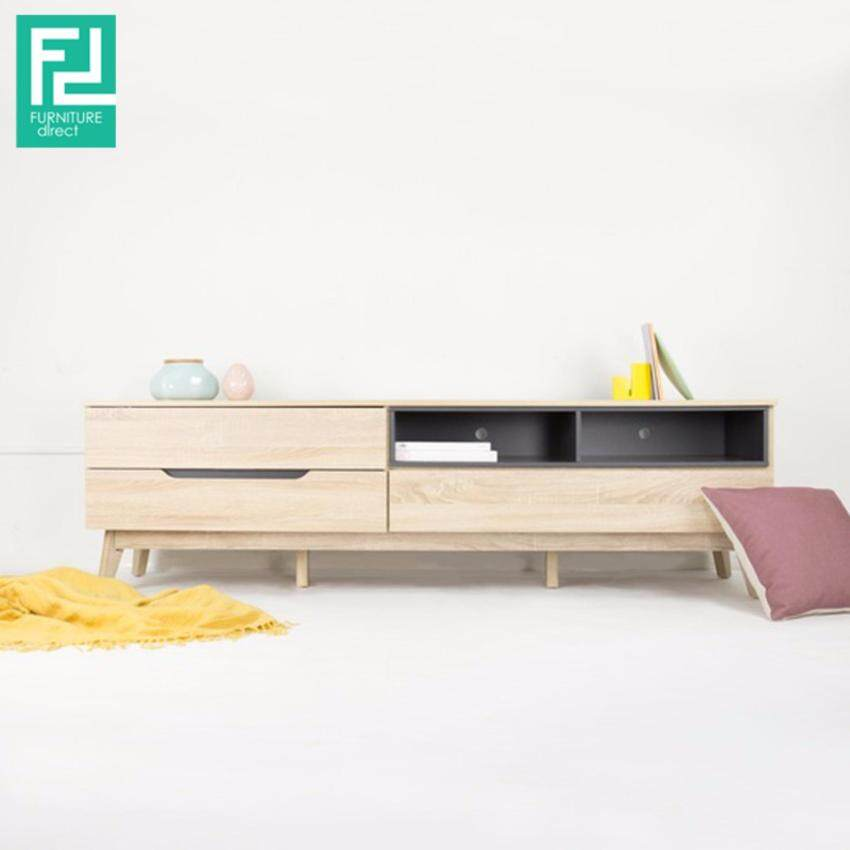 Evergreen classical wooden tv console lazada malaysia for Direct furniture