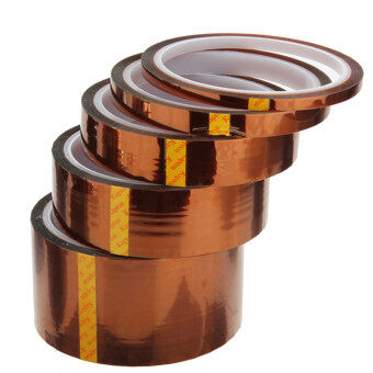 High Temperature Heat Resistant Polyimide Kapton Tape New 50MM 5CM 100FT