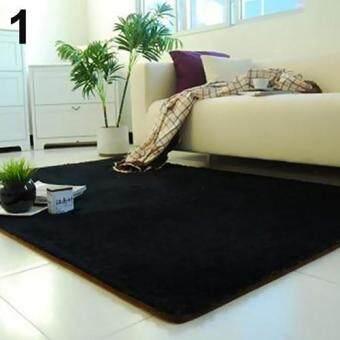 Harga Sanwood Living Room Bedroom Home Anti Skid Soft Shaggy Fluffy Area Rug Carpet Floor