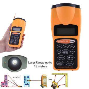 Laser Distance Meter Measurer Rangefinders Digital LED DisplayMeasuring Volume Area