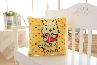 Lazy lazy egg the Pooh Twin Star pillow cushion chinchillas