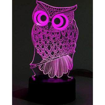 order lightingsky 3d table lamp touch control 7 colors night lightingsky 3d table lamp touch control 7 colors night light usb battery operated desk lighitng owl aloadofball Image collections