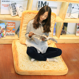 Microblogging simulation bread cushion sliced toast pillow cushion