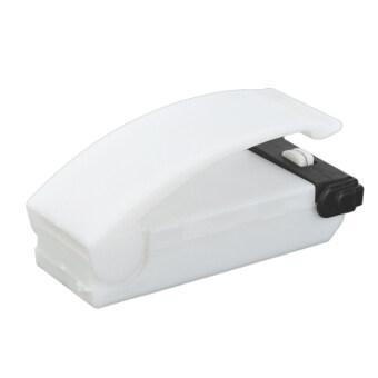 Mini Portable Handy Plastic Bag Sealer - White (2 x AA)