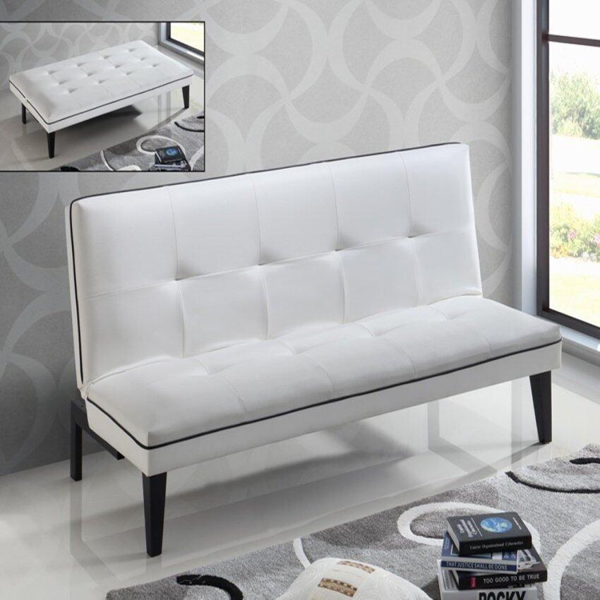 Smartux terato120 sofa bed grey lazada malaysia for Sofa bed 4 in 1