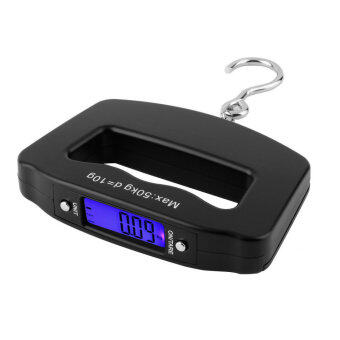 OH Pocket 50kg/10g LCD Digital Fishing Hanging Electronic Scale Hook Weight Luggage