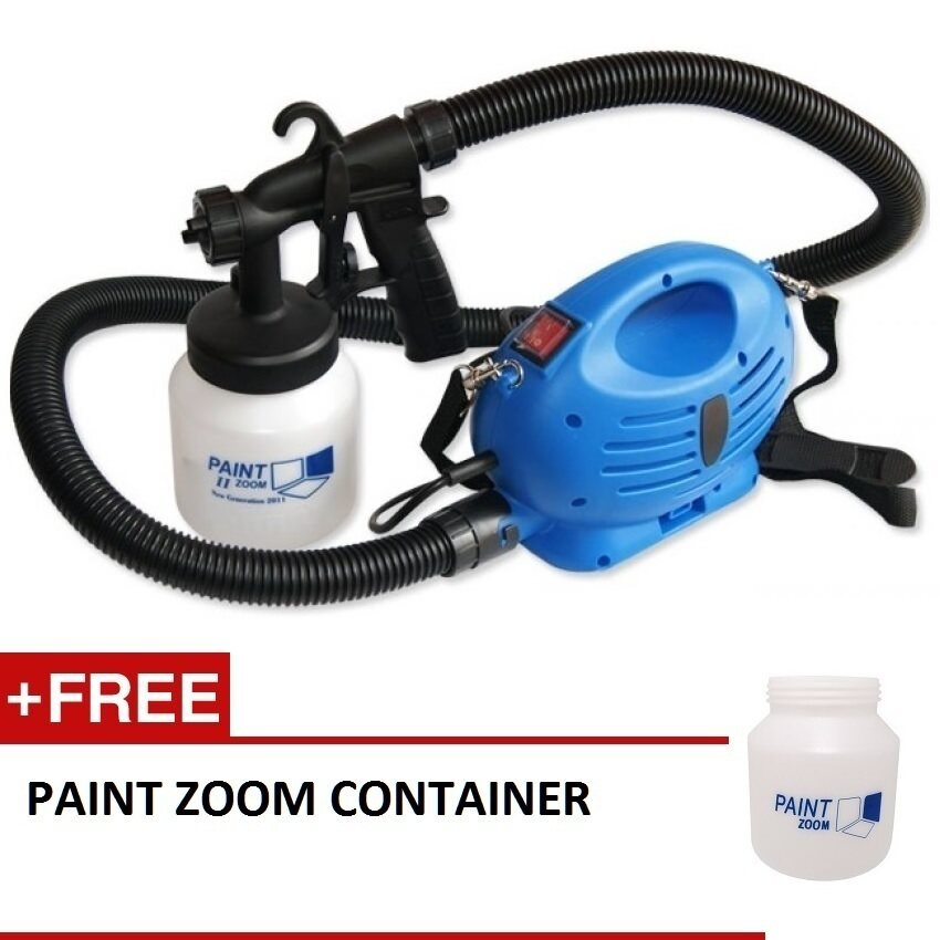 paint zoom professional electric paint sprayer paint gun. Black Bedroom Furniture Sets. Home Design Ideas