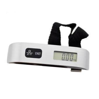 Portable 50kg/10g LCD Digital Fish Hanging Luggage Hook Electronic Weight Scale