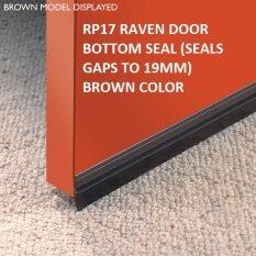 RP17 RAVEN DOOR BOTTOM SEAL (SEALS GAPS TO 19MM) BROWN COLOR & RAVEN Home Door hardware \u0026 locks price in Malaysia - Best RAVEN ... Pezcame.Com