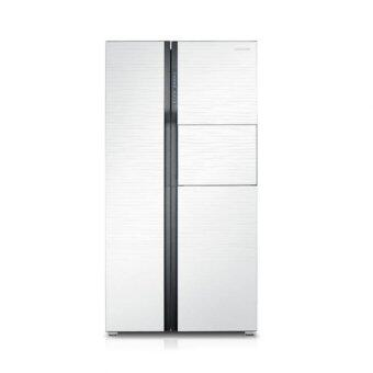 samsung side by side refrigerator rs554nrua1j me lazada malaysia. Black Bedroom Furniture Sets. Home Design Ideas