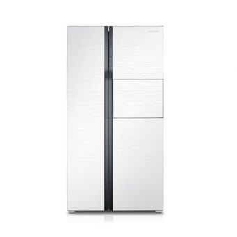 samsung side by side refrigerator rs554nrua1j me lazada malaysia. Black Bedroom Furniture Sets. Home Design Ideas