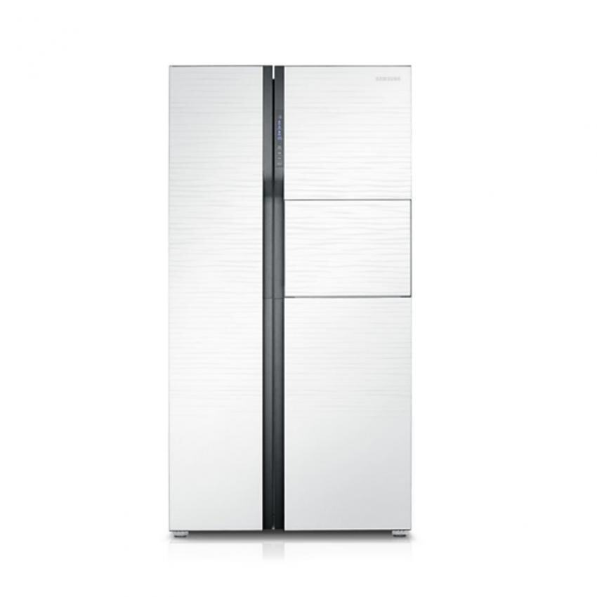 samsung rs554nrua1j side by side with twin cooling 590 l. Black Bedroom Furniture Sets. Home Design Ideas
