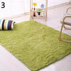 ... Grass Green Intl. Sanwood Modern Candy Color Soft Anti Skid Carpet Flokati Shaggy Rug Living Bedroom Floor Mat 80cm