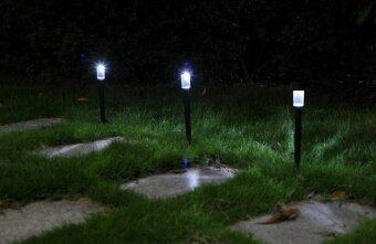 solar power led outdoor landscape garden fence lamp light lazada malaysia. Black Bedroom Furniture Sets. Home Design Ideas