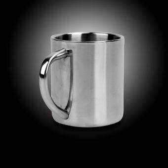 Student Stainless Steel Double Wall Mug Travel Tumbler Coffee TeaCup