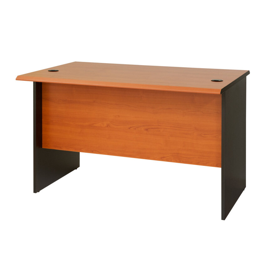 Contemporary Computer Desk Office Table L Shaped Made Of Teak Wood