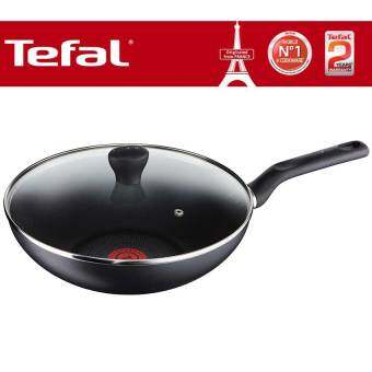 Tefal Super Cook Non Stick Wokpan 28cm + Lid with Thermo-Spot Technology
