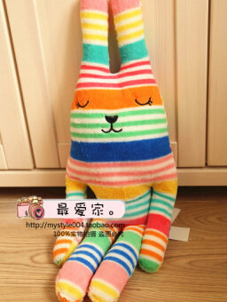 Accent holic craft Japanese pear doll plush toys gift striped pearboyfriend pillow