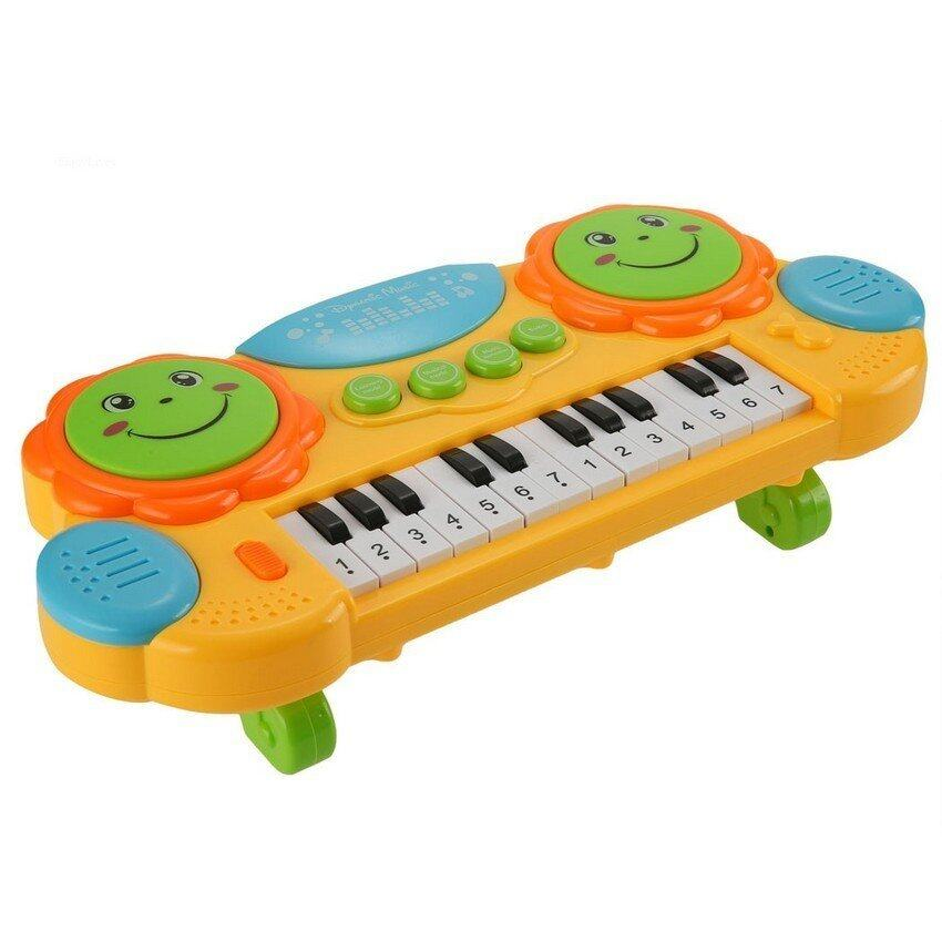 Musical Educational Toys : Fisher price fp nb kick n play piano gym lazada malaysia