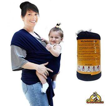 How To Beebeerun Baby Wrap With Adjustable Breastfeeding Cover