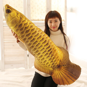 Carp cloth doll large model doll Hold pillow