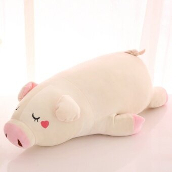 Cute large doll plush toy pig